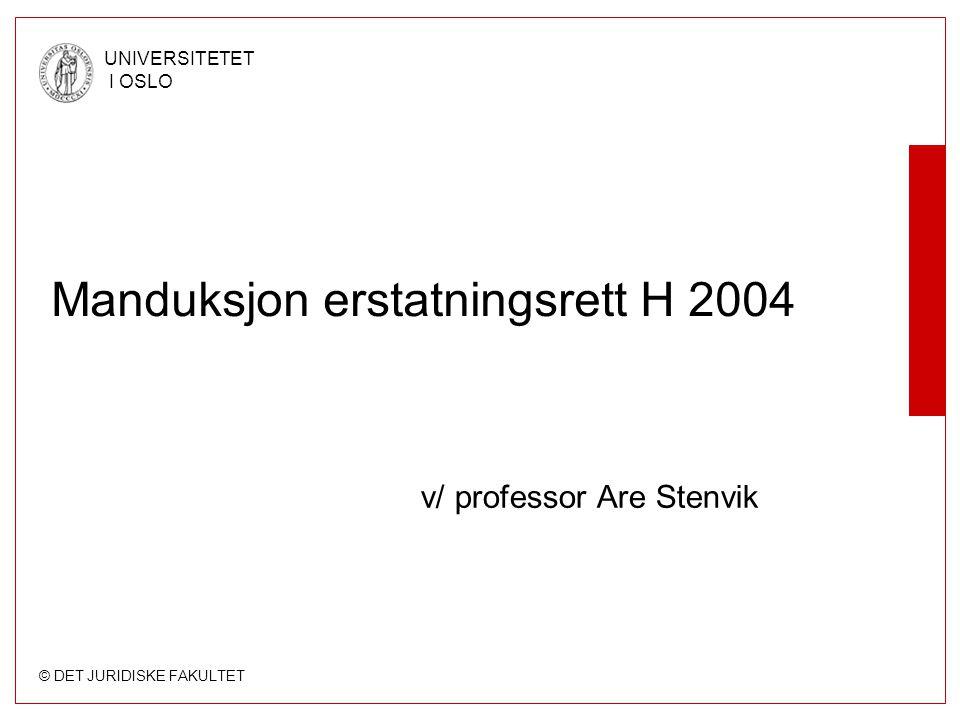 Manduksjon erstatningsrett H 2004