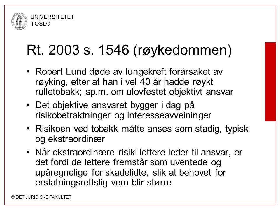 Rt. 2003 s. 1546 (røykedommen)