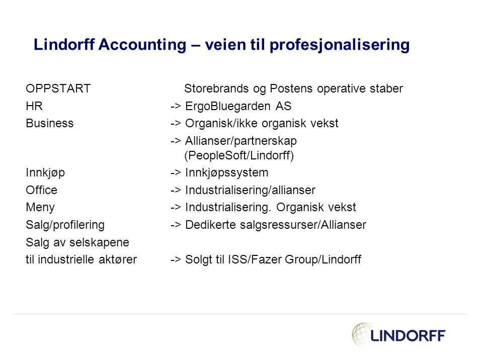 Lindorff Accounting – veien til profesjonalisering