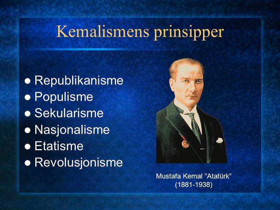 Kemalismens prinsipper