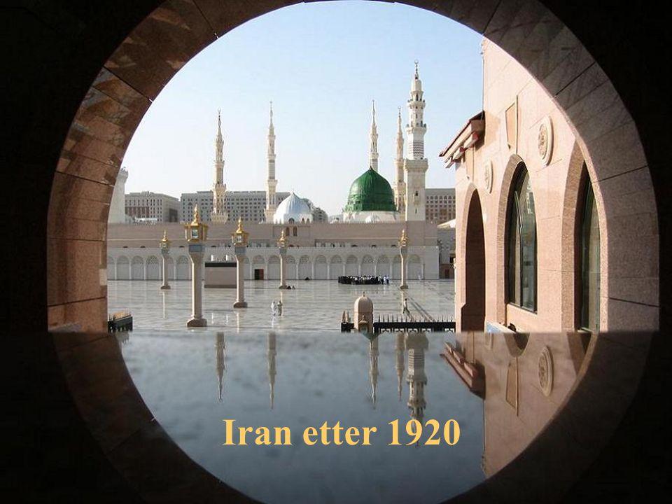 Iran etter 1920