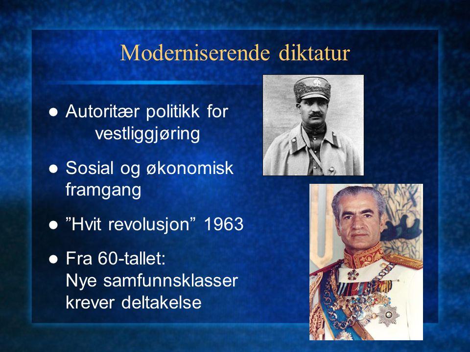 Moderniserende diktatur
