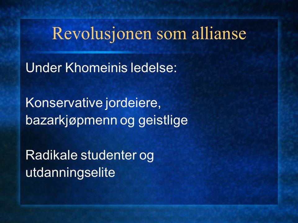 Revolusjonen som allianse