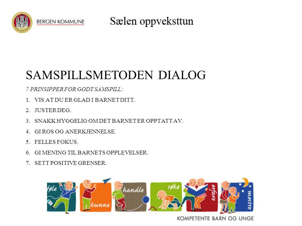 SAMSPILLSMETODEN DIALOG