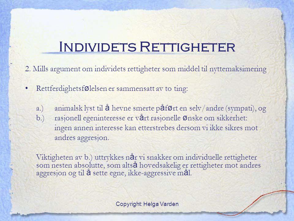 Individets Rettigheter