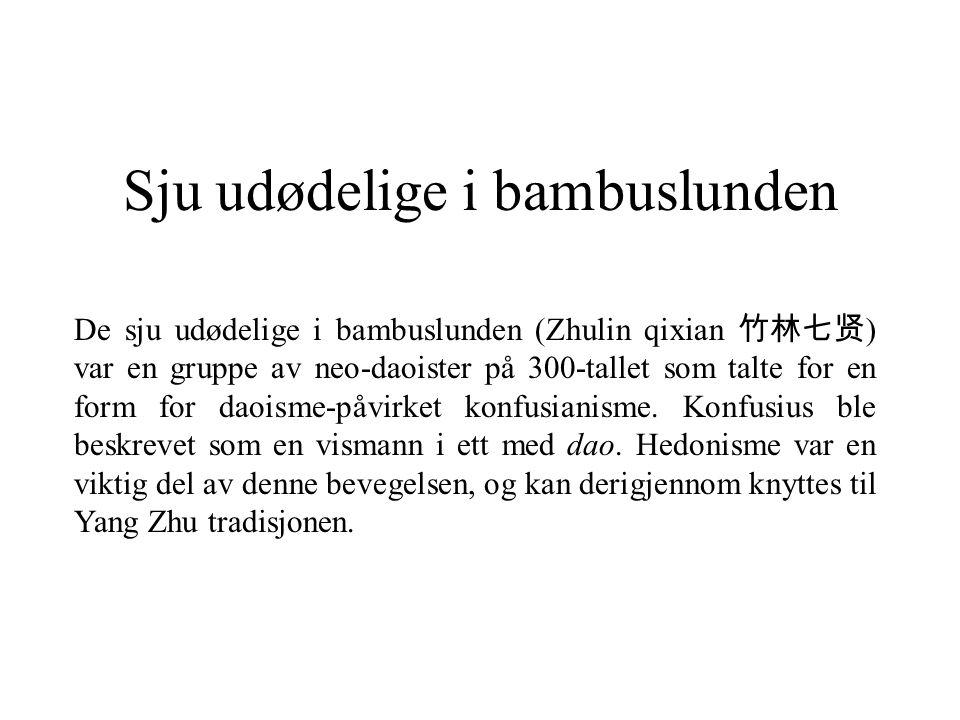 Sju udødelige i bambuslunden