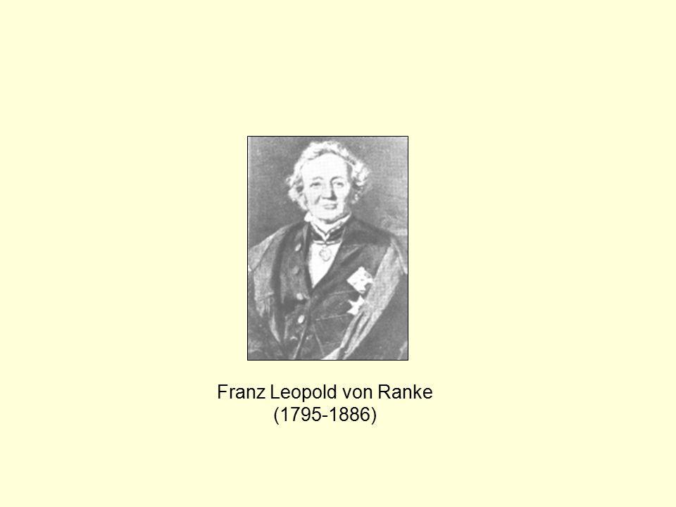 Franz Leopold von Ranke