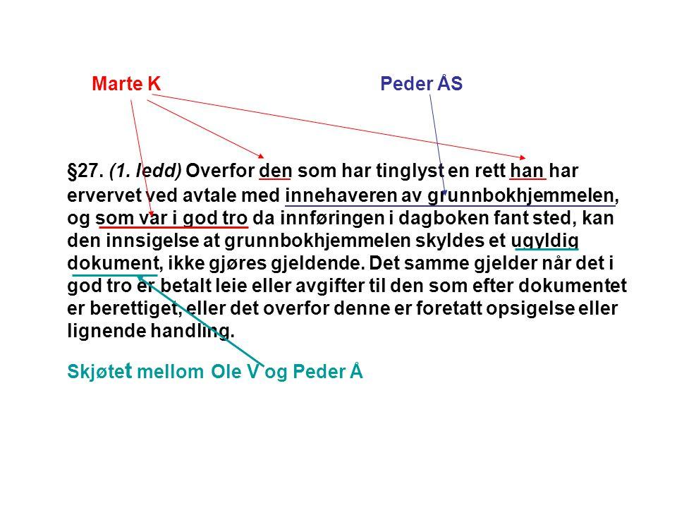 Marte K Peder ÅS