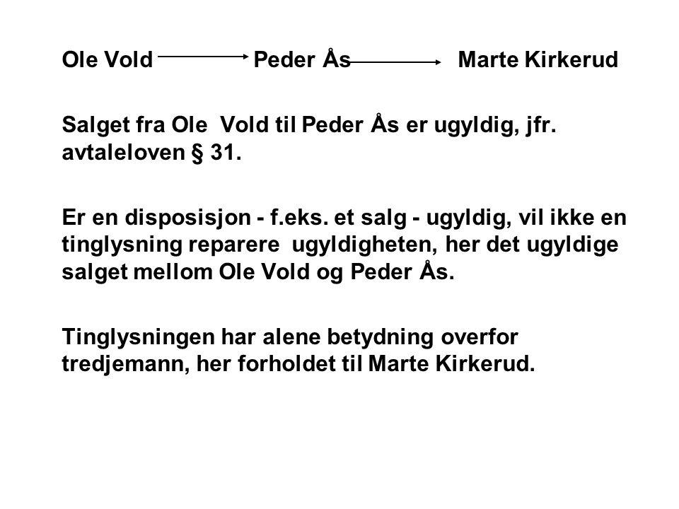 Ole Vold Peder Ås Marte Kirkerud