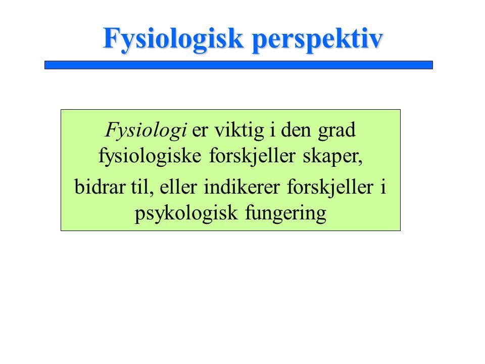Fysiologisk perspektiv