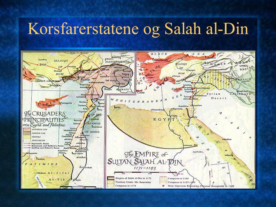 Korsfarerstatene og Salah al-Din