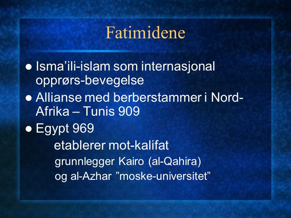 Fatimidene Isma'ili-islam som internasjonal opprørs-bevegelse