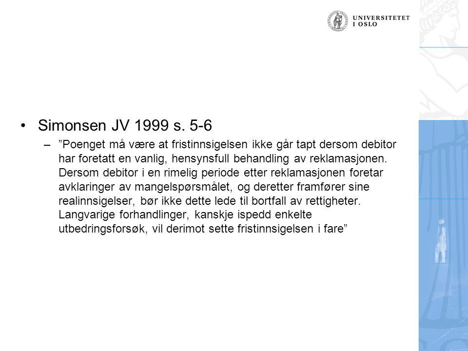 Simonsen JV 1999 s. 5-6
