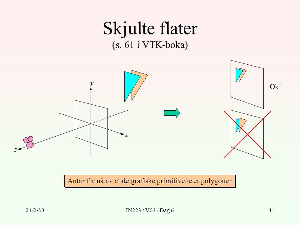 Skjulte flater (s. 61 i VTK-boka)