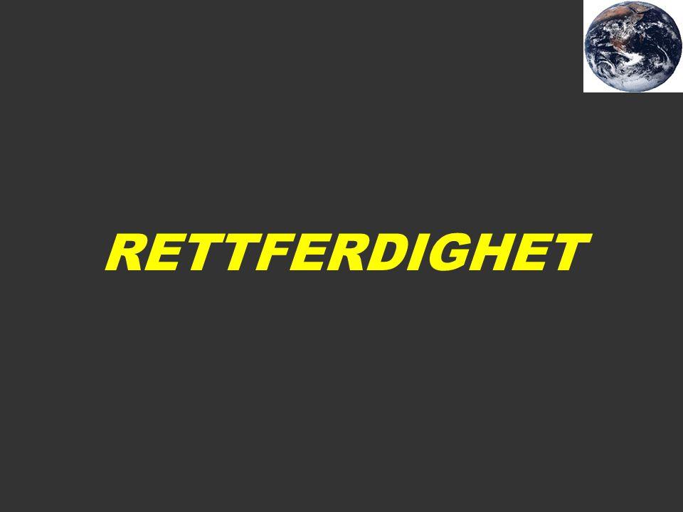 RETTFERDIGHET