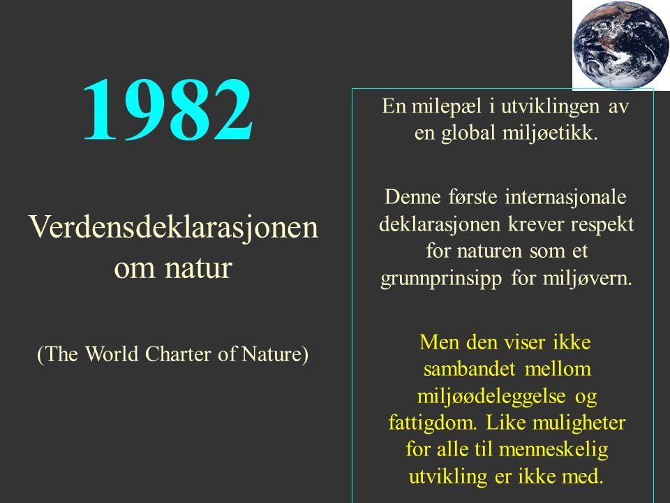 1982 Verdensdeklarasjonen om natur