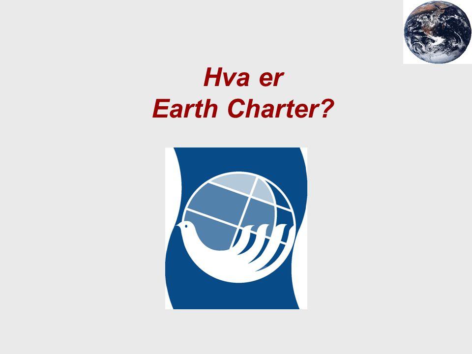 Hva er Earth Charter