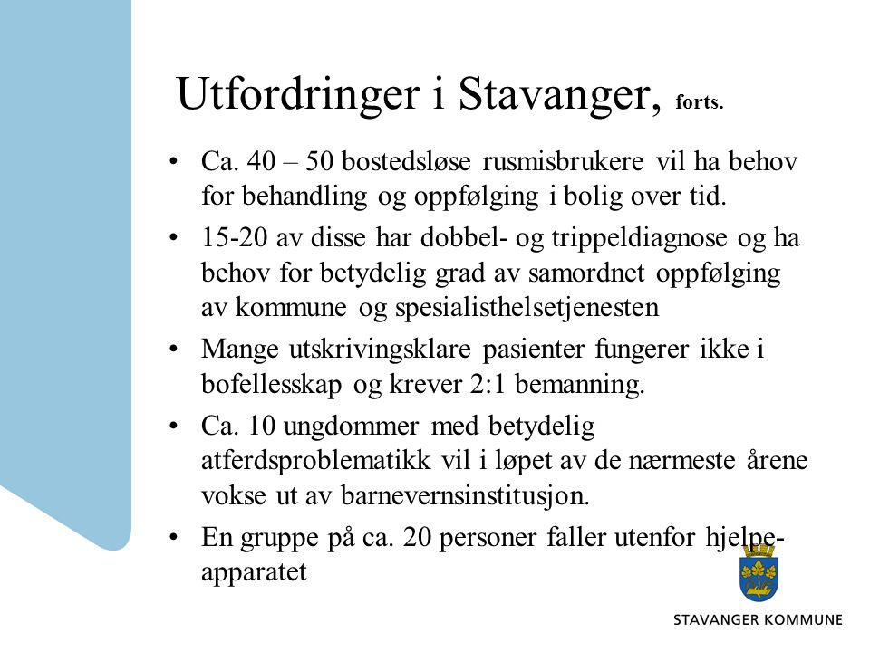 Utfordringer i Stavanger, forts.