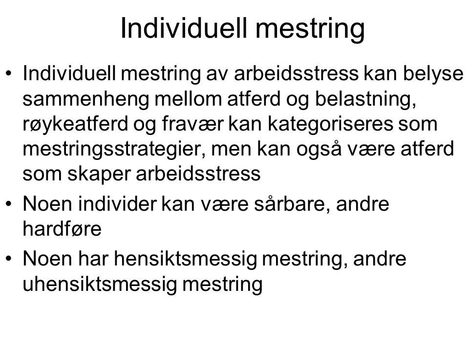 Individuell mestring