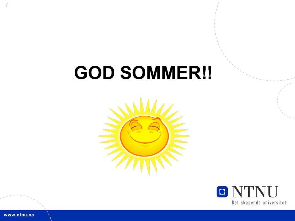 GOD SOMMER!!