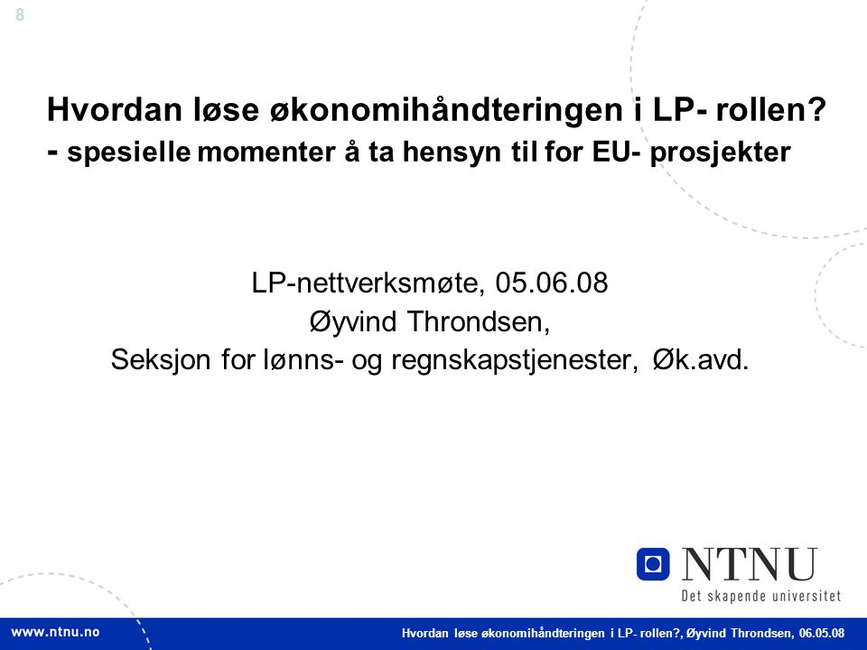 Seksjon for lønns- og regnskapstjenester, Øk.avd.