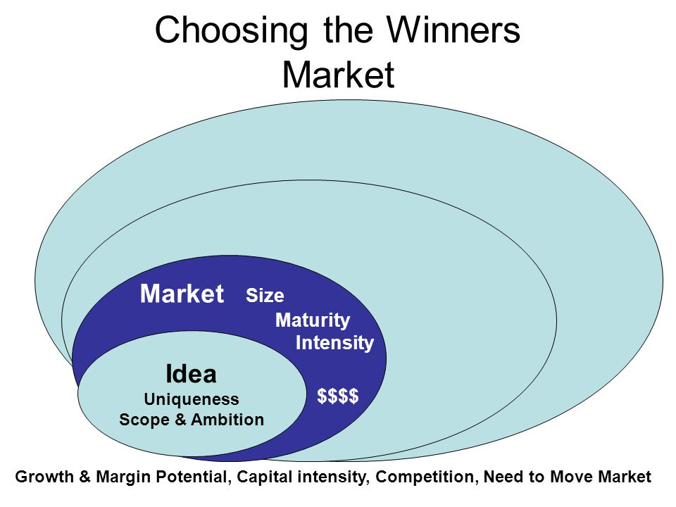 Choosing the Winners Market