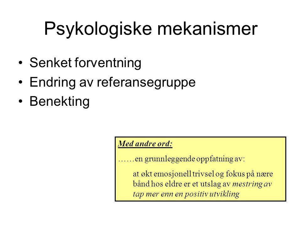 Psykologiske mekanismer