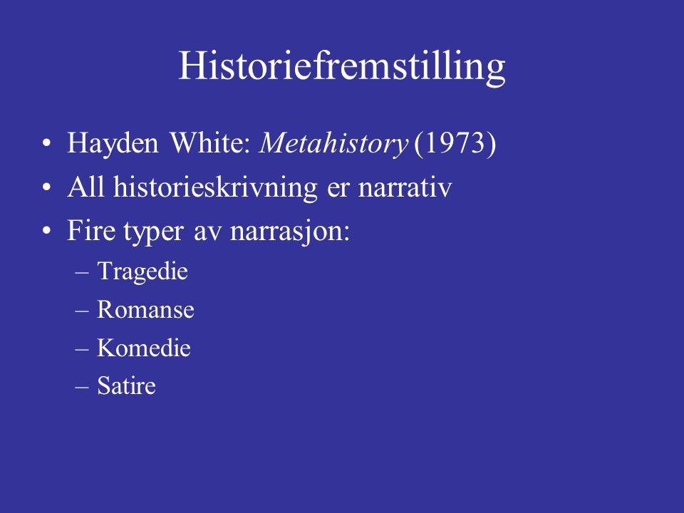 Historiefremstilling