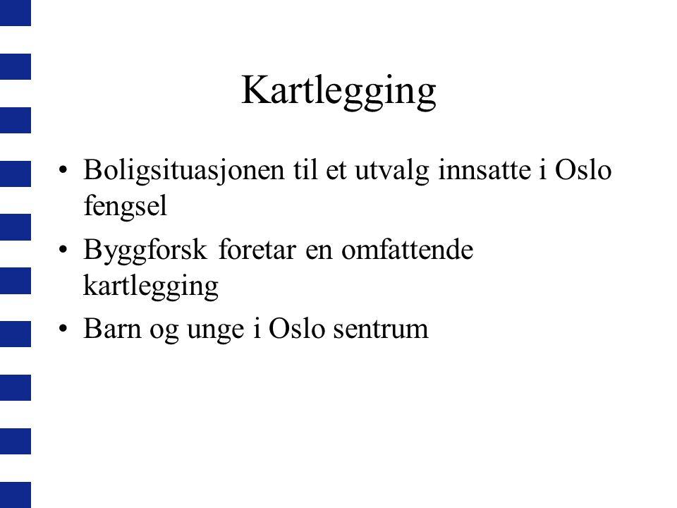 Kartlegging Boligsituasjonen til et utvalg innsatte i Oslo fengsel