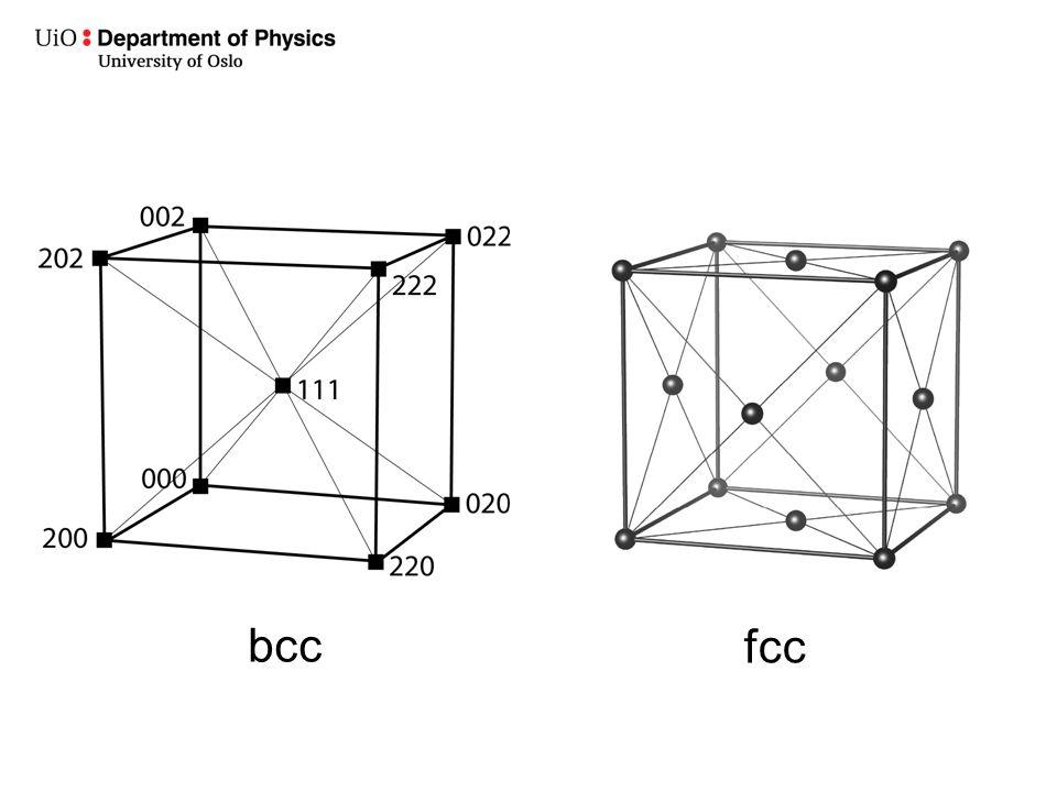 bcc fcc