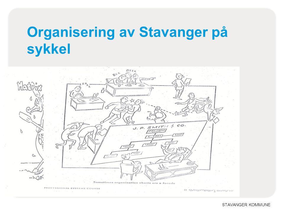 Organisering av Stavanger på sykkel