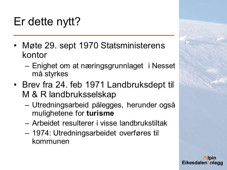 Er dette nytt Møte 29. sept 1970 Statsministerens kontor