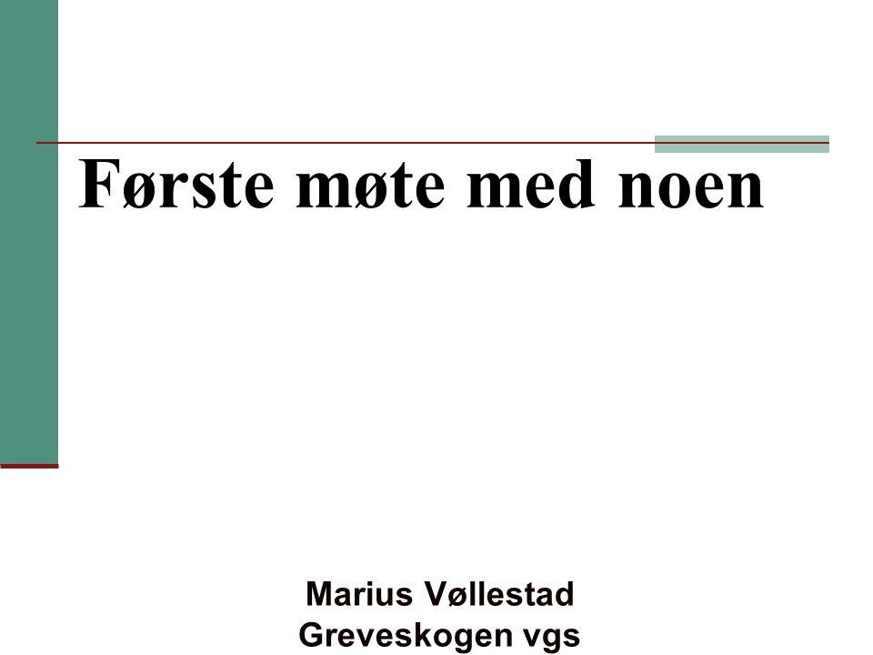 Marius Vøllestad Greveskogen vgs