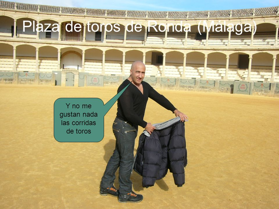Plaza de toros de Ronda (Málaga)