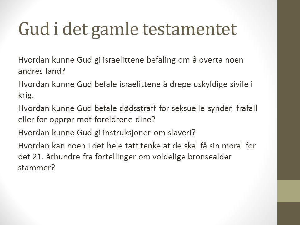 Gud i det gamle testamentet