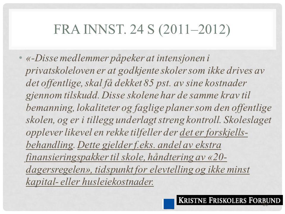 Fra Innst. 24 S (2011–2012)