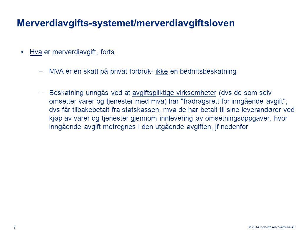 Merverdiavgifts-systemet/merverdiavgiftsloven