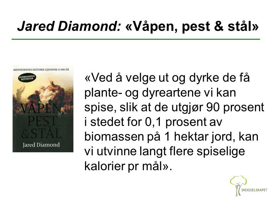 Jared Diamond: «Våpen, pest & stål»