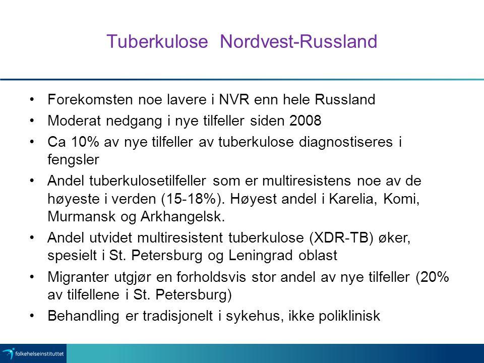 Tuberkulose Nordvest-Russland
