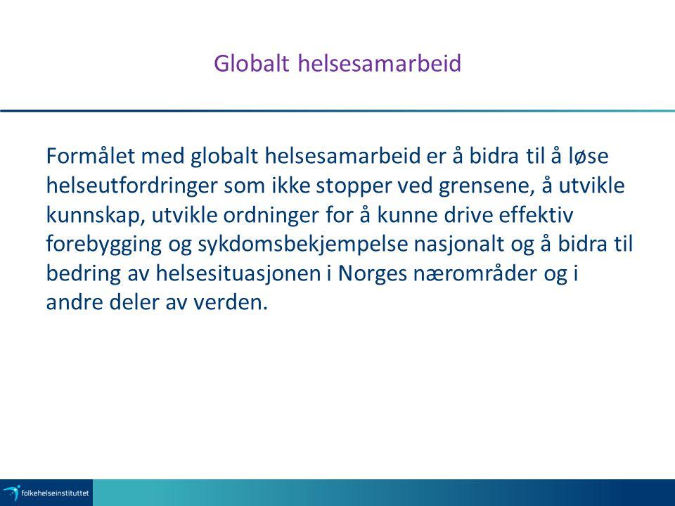 Globalt helsesamarbeid