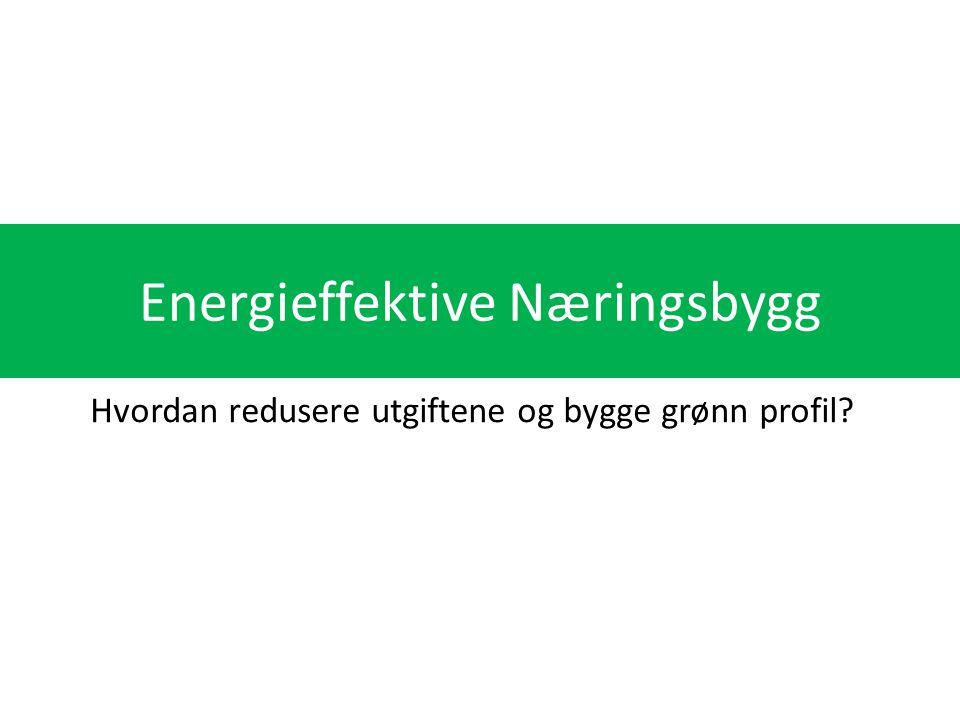Energieffektive Næringsbygg