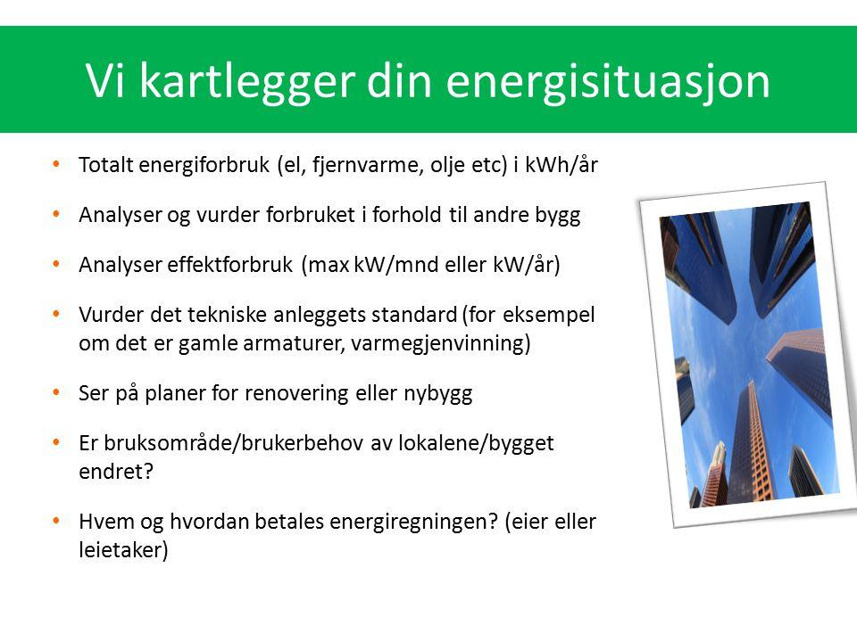Vi kartlegger din energisituasjon