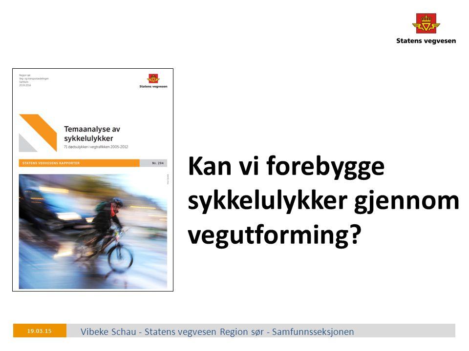 Kan vi forebygge sykkelulykker gjennom vegutforming