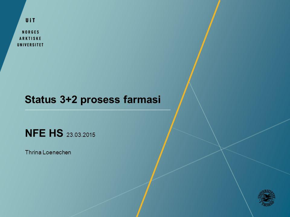 Status 3+2 prosess farmasi