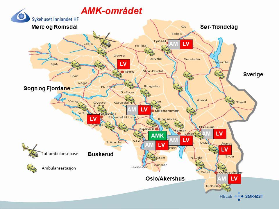 AMK-området Møre og Romsdal Sør-Trøndelag AM LV LV Sverige