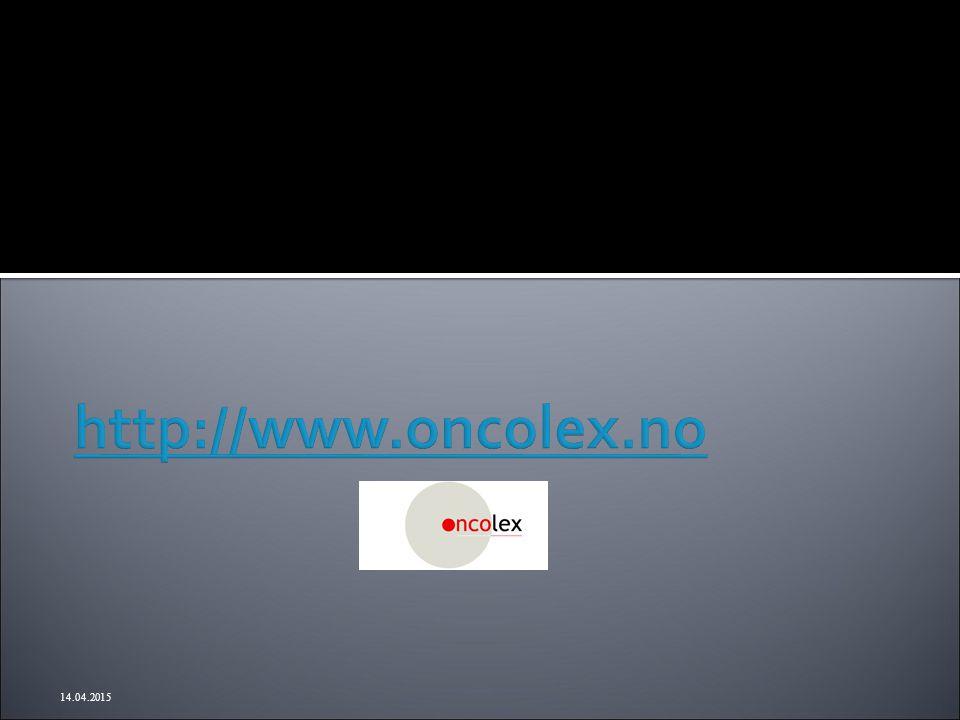 http://www.oncolex.no 12.04.2017