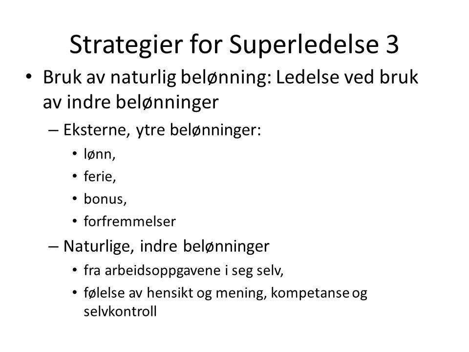 Strategier for Superledelse 3