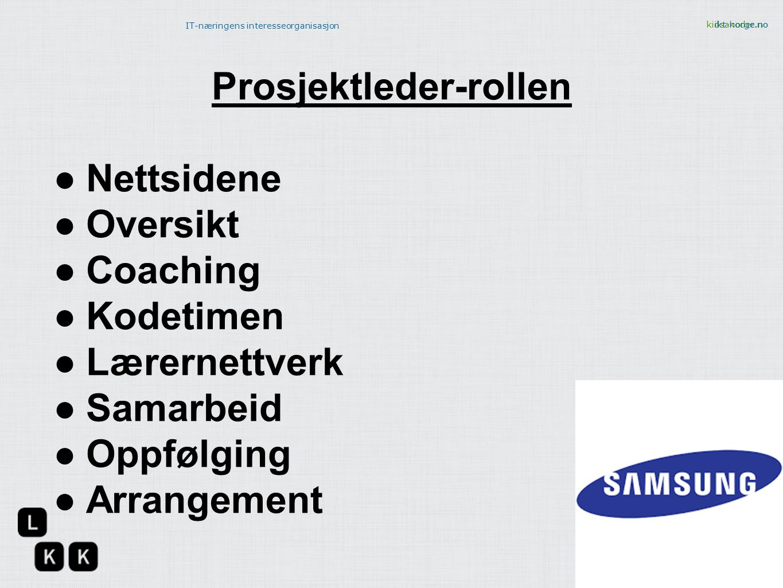 Prosjektleder-rollen