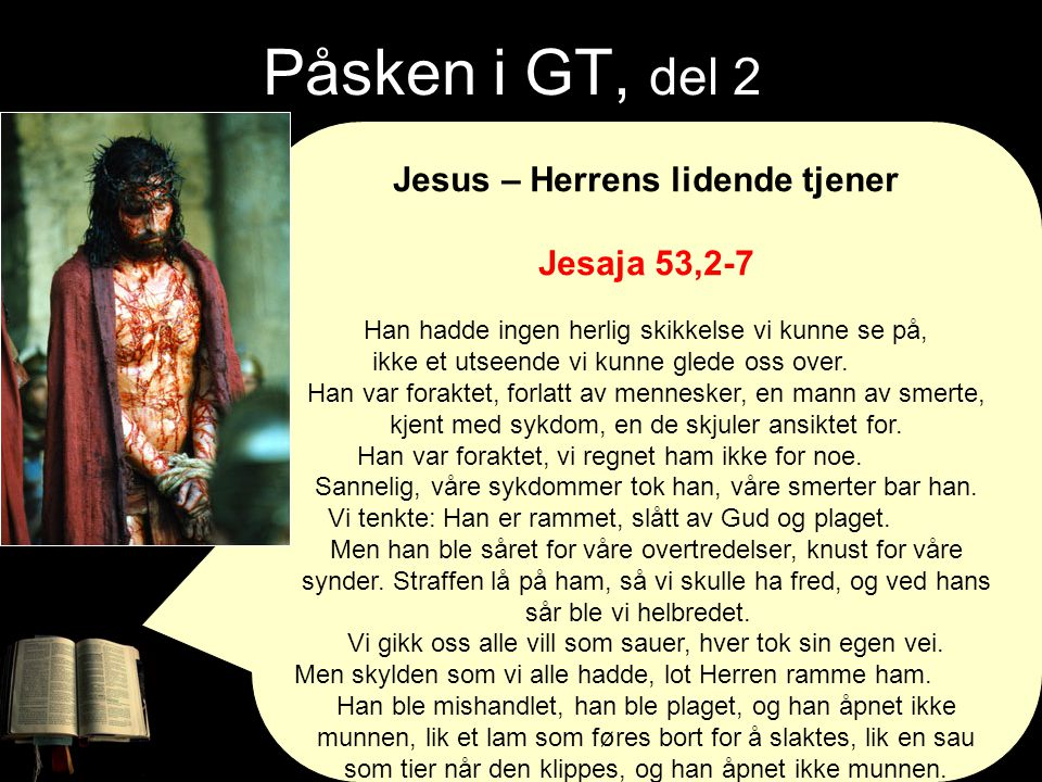Jesus – Herrens lidende tjener