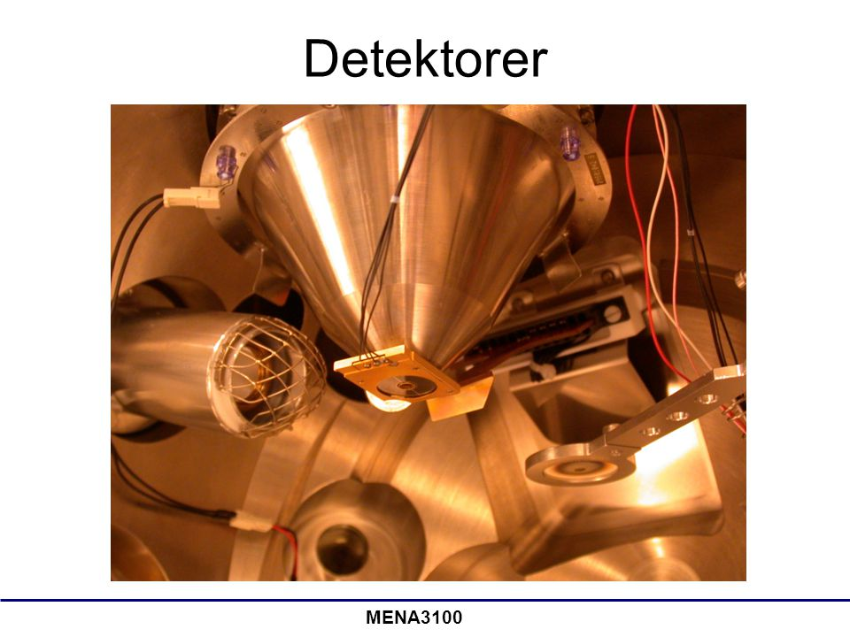 Detektorer MENA3100